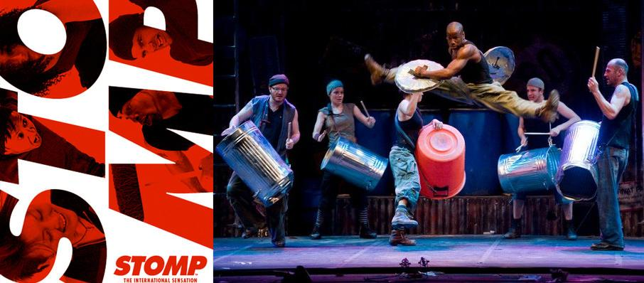 Stomp at Centennial Hall