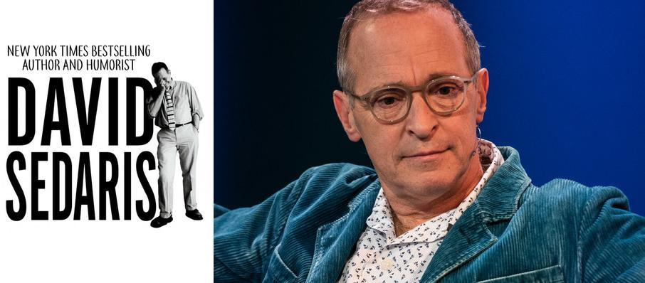 David Sedaris at Centennial Hall