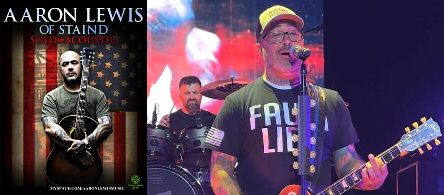 Aaron Lewis at Rialto Theater