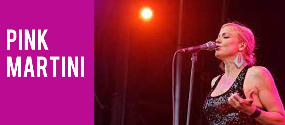 Pink Martini at Centennial Hall