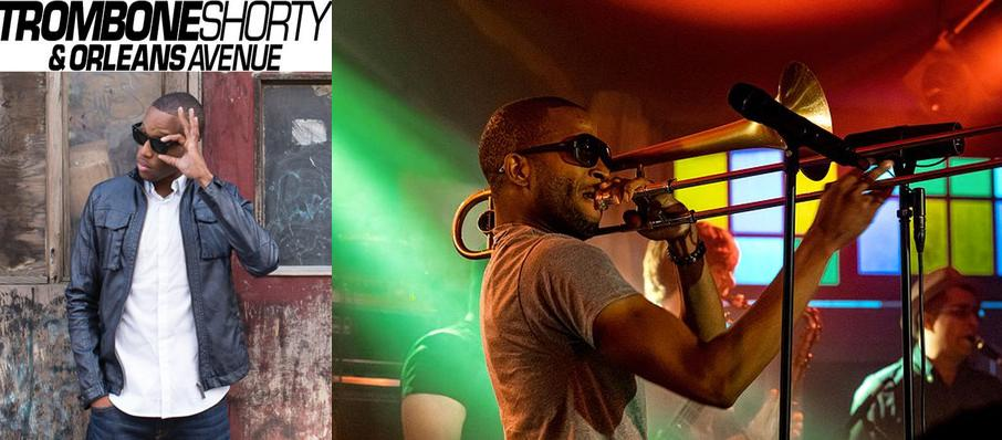 Trombone Shorty And Orleans Avenue at Centennial Hall