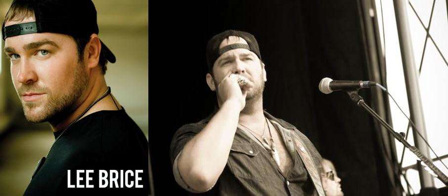 Lee Brice at Desert Diamond Casino