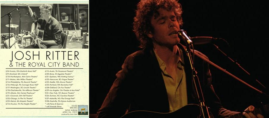 Josh Ritter at Rialto Theater