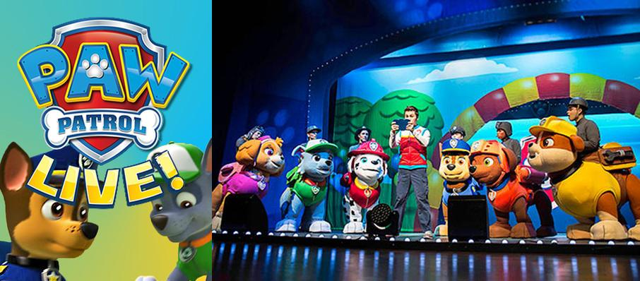 Paw Patrol at Centennial Hall