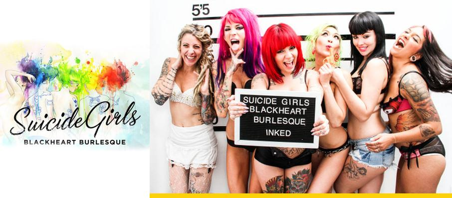 The Suicide Girls - Blackheart Burlesque at Fox Theater