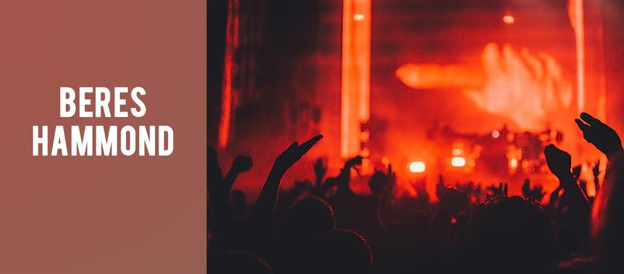 Beres Hammond at Rialto Theater