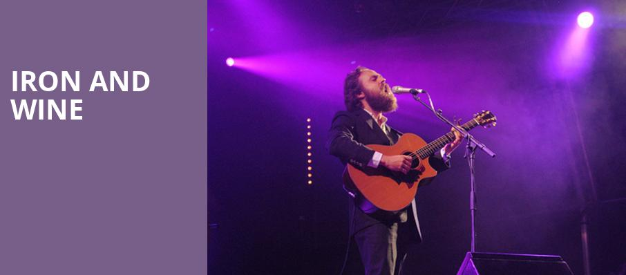 Iron and Wine, Rialto Theater, Tucson