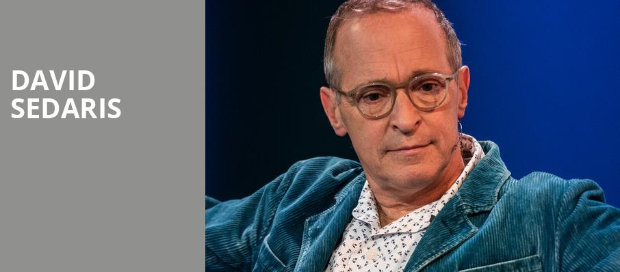 David Sedaris, Centennial Hall, Tucson