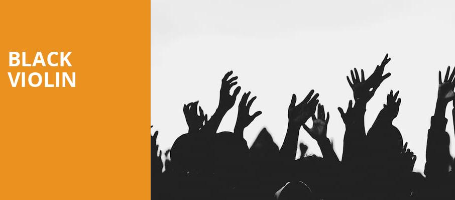 Black Violin, Centennial Hall, Tucson