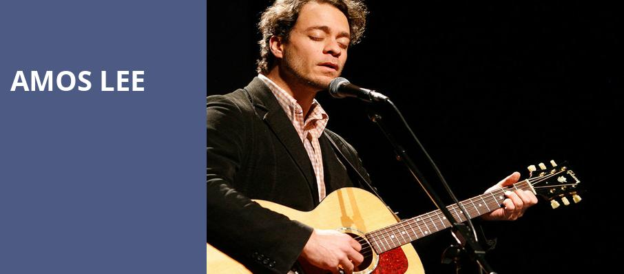 Amos Lee, Fox Theater, Tucson