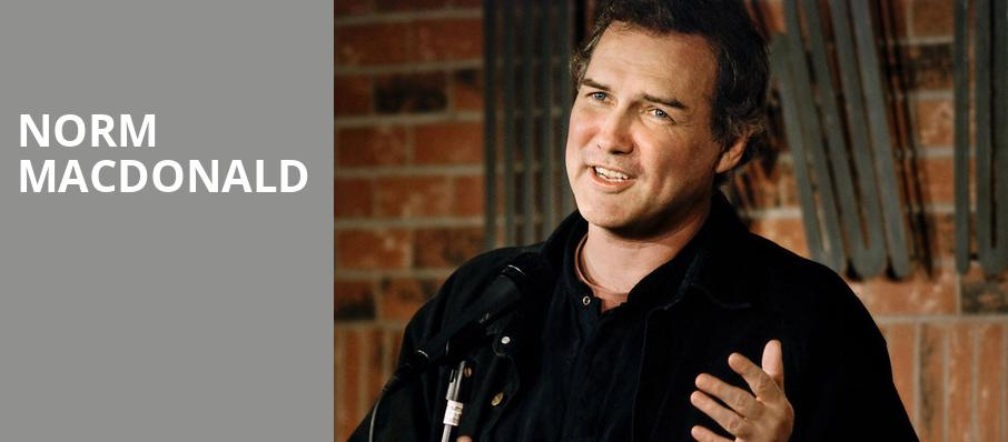 Norm Macdonald, Desert Diamond Casino, Tucson