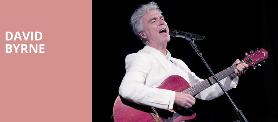 David Byrne, Centennial Hall, Tucson
