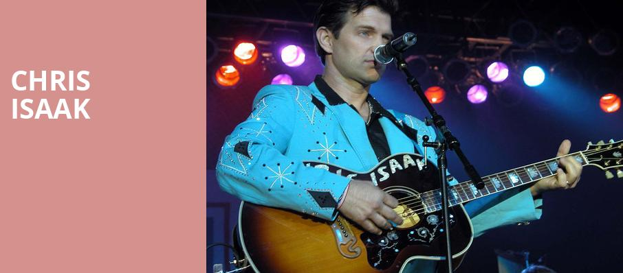 Chris Isaak, Fox Theater, Tucson
