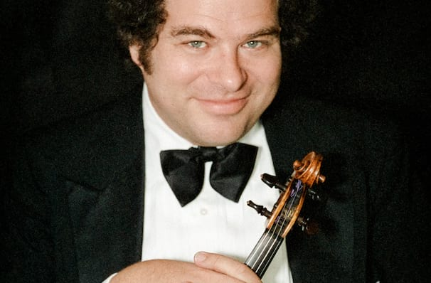 Dates announced for Itzhak Perlman