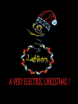 A Very Electric Christmas Poster